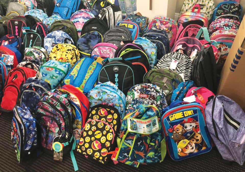 YMCA of Orange County Distributes Over 600 Backpacks